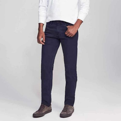 Faherty Lightweight Comfort Twill 5-Pocket Pant Navy