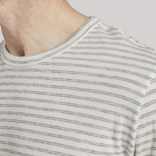 faherty-cloud-long-sleeve-stripe-tee-windswept-sage Available online or in store at assembly88 men's shop in Allentown, PA