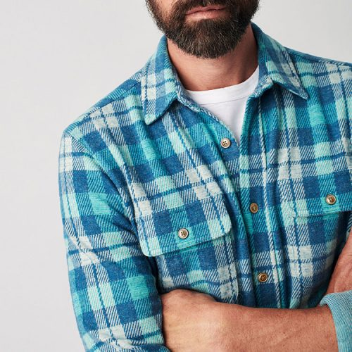 faherty-legend-sweater-shirt-chatham-plaid can be found online or in store at assembly88 men's clothing store in Allentown,PA