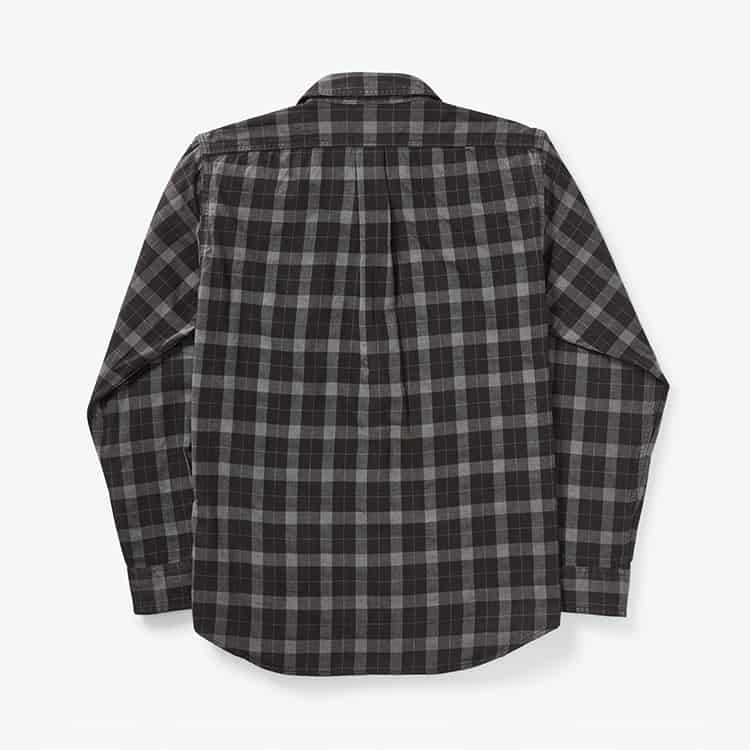 Filson Lightweight Alaskan Guide Shirt Heather Gray/Black Plaid