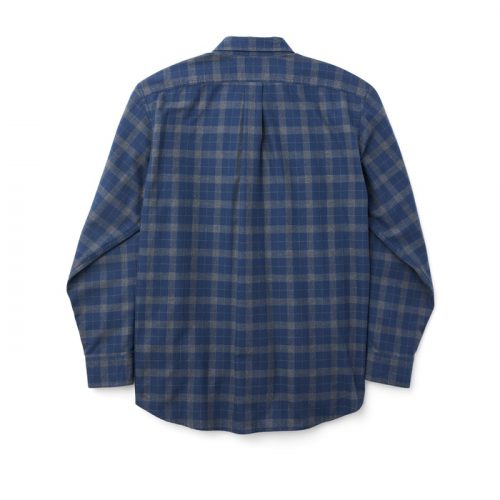 filson-lightweight-alaskan-guide-shirt-navy-heather-gray Available online or in store at assembly88 men's shop in Allentown, PA