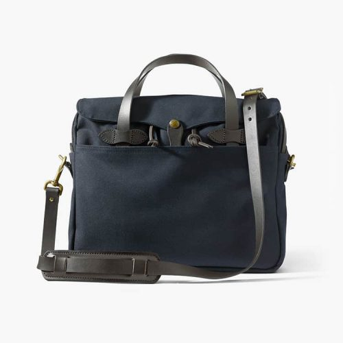 Filson Rugged Twill Original Briefcase Navy