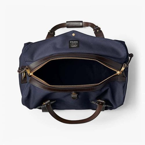 Filson Medium Rugged Twill Duffle Bag Navy