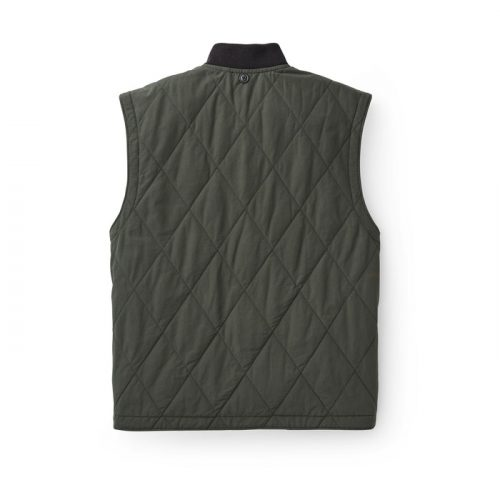 filson-quilted-pack-vest-dark-otter-green Available online or in store at assembly88 men's shop in Allentown, PA