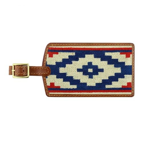 smathers-branson-gaucho-rojo-needlepoint-luggage-tag Available online or in store at assembly88 men's shop in Allentown, PA