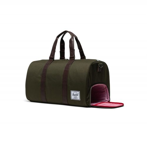 herschel-supply-novel-duffle-ivy-green-chicory-coffee Available online or in store at assemnly88 men's shop in Allentown, PA