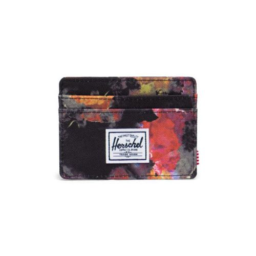 herschel-supply-charlie-wallet-watercolor-floral Available online or in store at assembly88 men's shop in Allentown, PA