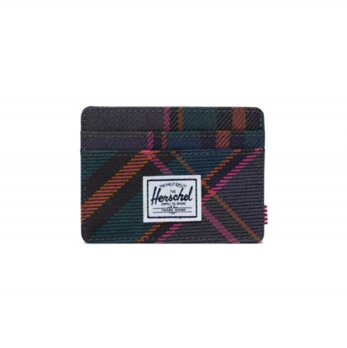 herschel-supply-charlie-wallet-pewter-plaid Available online or in store at assembly88 men's shop in Allentown, PA