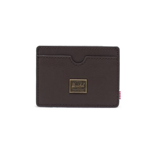 herschel-supply-charlie-wallet-brown-leather Available online or in store at assembly88 men's shop in Allentown, PA