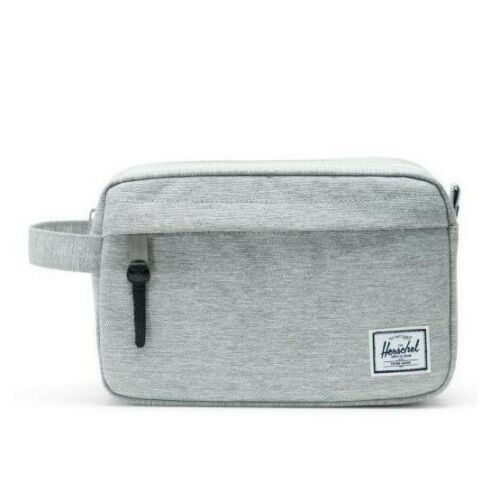 herschel-supply-chapter-travel-kit-carry-on-light-grey-crosshatch Available online or in store at assembly88 men's shop in Allentown, PA