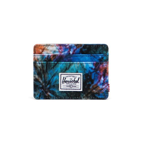 Herschel-Charlie-Wallet-Summer-Tie-Dye Available online or in store at assembly88 men's shop in Allentown, PA