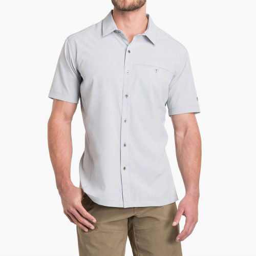 kuhl-renegade-shirt-ash-men's-casual-button-down Available online or in store at assembly88 men's shop in Allentown, PA