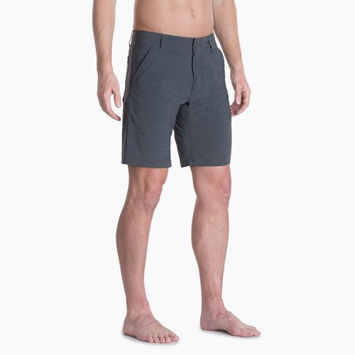 """kuhl-shift-amphibia-short-carbon-8""""-men's-short Available online or in store at assembly88 men's shop in Allentown, PA"""
