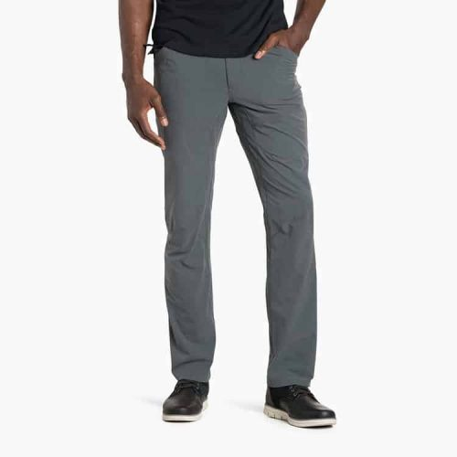 kuhl-silencr-mechanical stretch polyester pant-carbon for sale online and in store at assembly 88 mens store in allentown pa