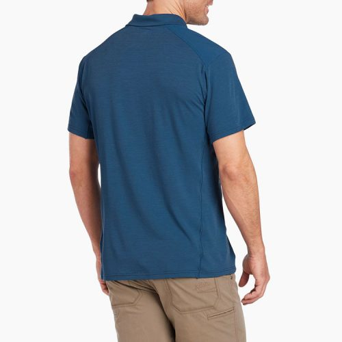 kuhl-virtuoso-polo-neptune-men's-polo Available online or in store at assembly88 men's shop in Allentown, PA
