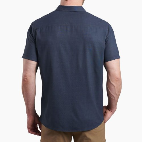 kuhl-persuadr-ss-night-blue-men's-polo Available online or in store at assembly88 men's shop in Allentown, PA