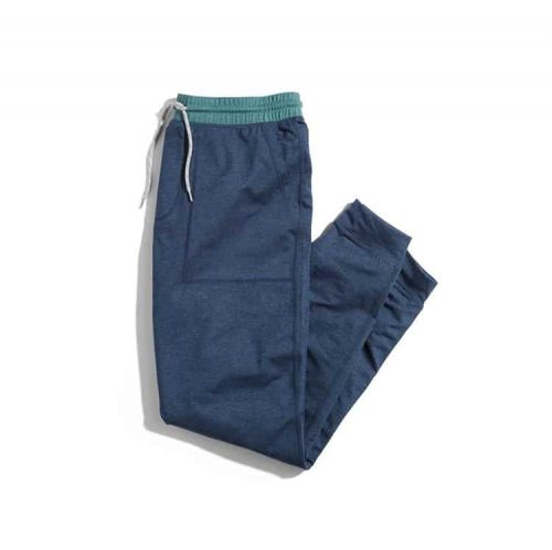 Marine Layer Sport Yoga Jogger Navy Heather/Mallard