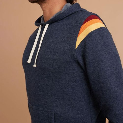 marine-layer-banks-pullover-hoodie-in-navy-heather Available online or in store at assembly88 men's shop in Allentown, PA