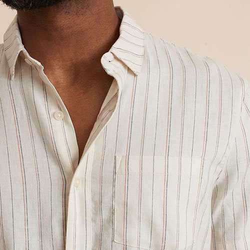 marine-layer-short-sleeve-hemp-tencel-shirt Available online or in store at assembly88 men's shop in Allentown, PA