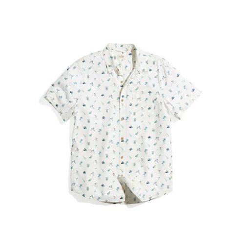 marine-layer-short-sleeve-cotton-rayon-shirt-in-island-multi-print Available online or in store at assembly88 men's shop in Allentown, PA