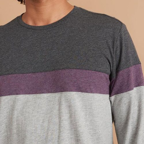 marine-layer-jacob-long-sleeve-crew-tee-in-india-ink-heather-grey Available online or in store at assembly88 men's shop in Allentown, PA