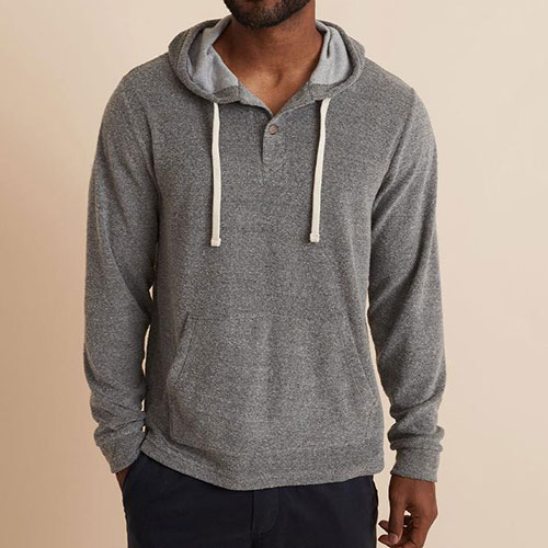 marine-layer-la-jolla-pullover-beach-hoodie-in-heather-grey Available online or in store at assembly88 men's shop in Allentown, PA