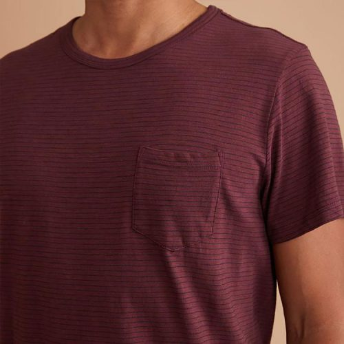 marine-layer-saddle-hem-pocket-tee-in-port-royal-navy Available online or in store at assembly88 men's shop in Allentown, PA