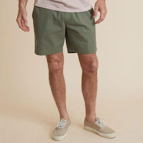 marine-layer-saturday-short-in-deep-lichen Available online or in store at assembly88 men's shop in Allentown, PA