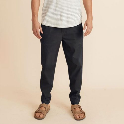 marine-layer-saturday-jogger-slim-fit-in-faded-black Available online or in store at assembly88 men's shop in Allentown, PA