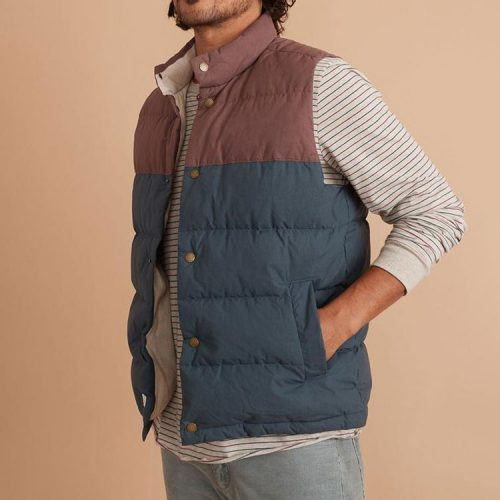 marine-layer-sequoia-flannel-lined-puffer-vest Available online or in store at assembly88 men's shop in Allentown, PA