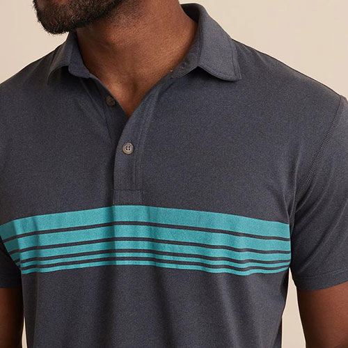 marine-layer-sport-polo-in-heather-grey Available online or in store at assembly88 men's shop in Allentown