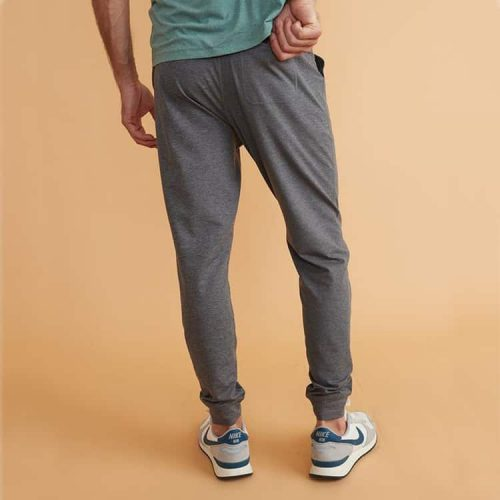 Marine Layer Sport Yoga Jogger Dark Heather Grey