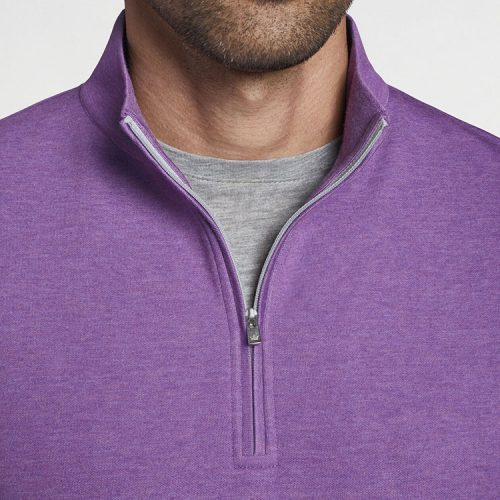 peter-millar-crown-comfort-interlock-quarter-zip-purple-mum Available online or in store at assembly88 men's shop located in Allentown, PA