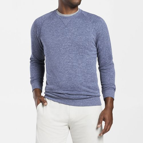 peter-millar-seaside-jasper-crew-atlantic-blue available online or in store at assembly88 men's store in Allentown, PA.