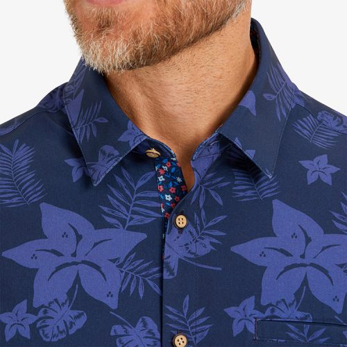 mizzenmain-leeward-vacation-shirt-blue-large-floral-print Available online or in store at assembly88 men's shop in Allentown, PA