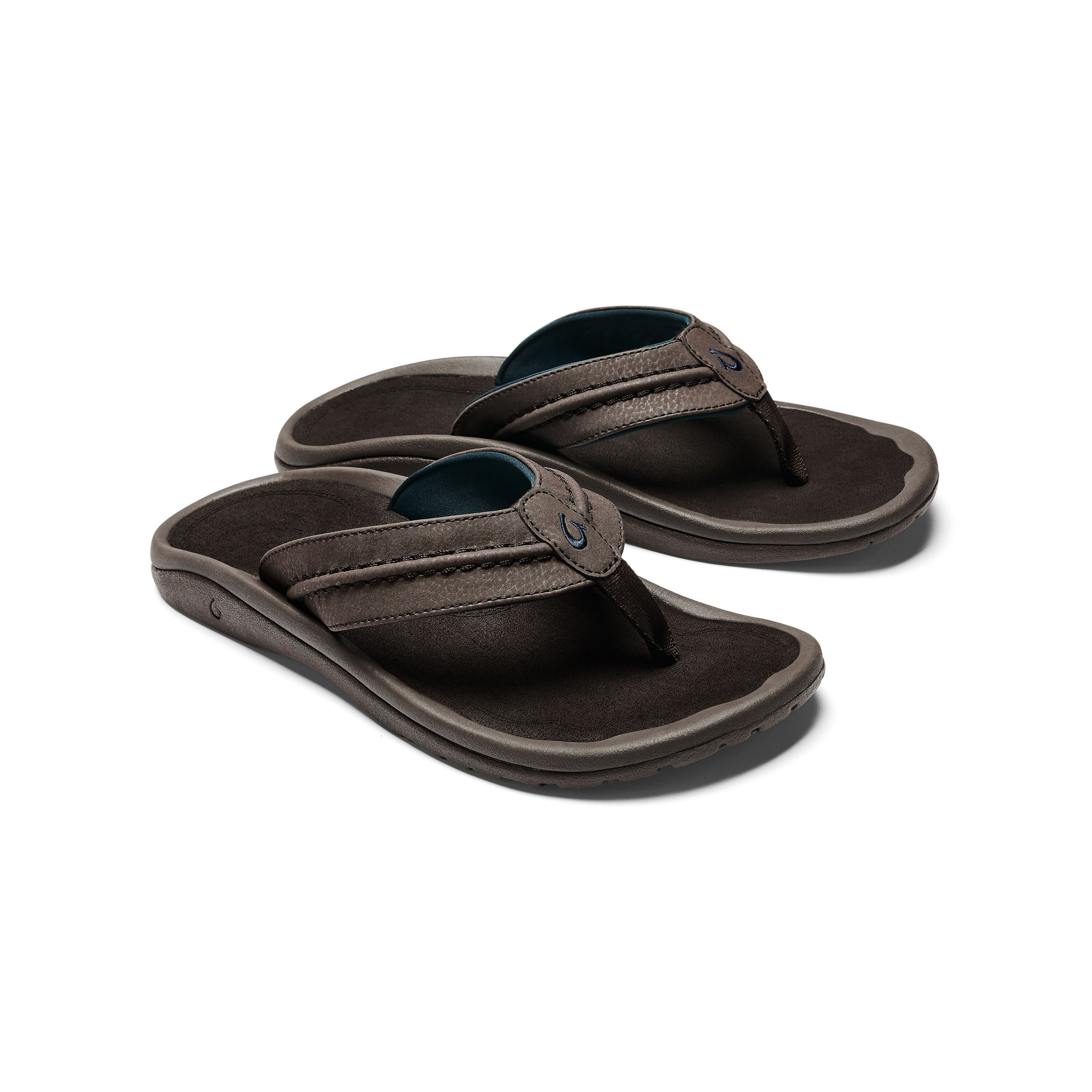 olukai-hokua-dark-wood-men's-beach-sandals Available online or in store at assembly88 men's shop in Allentown, PA