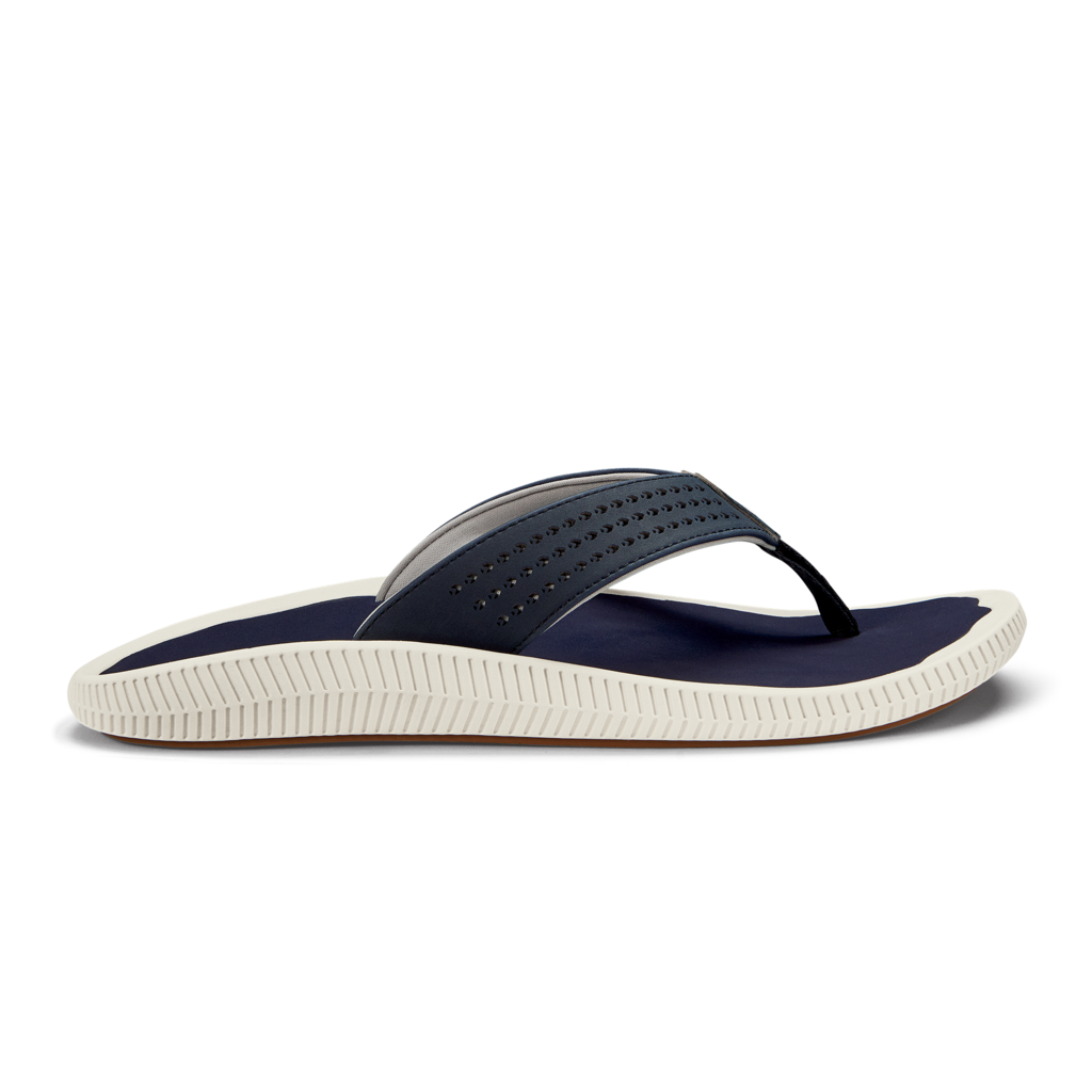 olukai-ulele-blue-depth-men's-beach-sandals Available online or in store at assembly88 men's shop in Allentown, PA