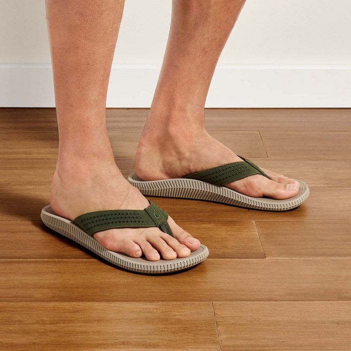 olukai-ulele-nori-clay-men's-sandals Available online or in store at assembly88 men's shop in Allentown, PA