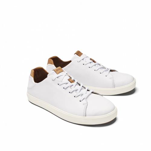 olukai-laeahi-li-ili-white-men's-casual-shoe Available online or in store at assembly88 men's shop in Allentown, PA