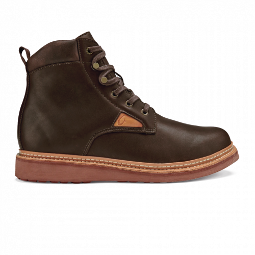 olukai-kilakila-dark-wood-mens-olukai Available online or in store at assembly88 men's shop located in Allentown, PA