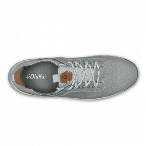 olukai-nanea-li-pale-grey-vapor Available online or in store at assembly88 men's shop located in Allentown, PA