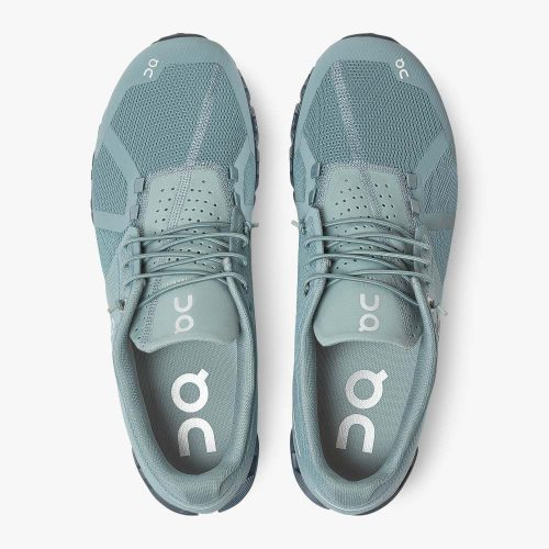on-cloud-monochrome-sea-men's-running-shoe Available online or in store at assembly88 men's shop in Allentown, PA