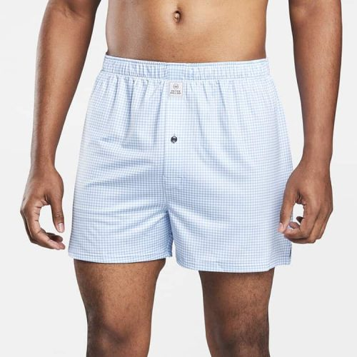 Peter Millar Nebraska Stretch Jersey Boxer Cottage Blue