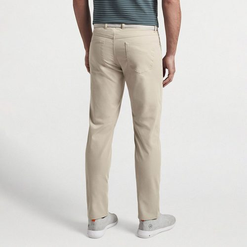 peter-millar-eb66-performance-five-pocket-pant-khaki Available online or in store at assembly88 men's shop in Allentown, PA