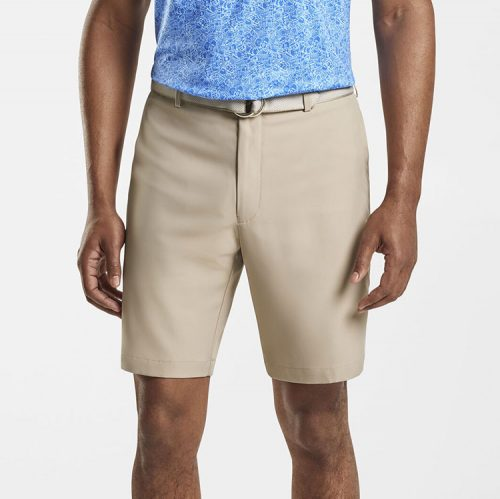 peter-millar-salem-high-drape-performance-short-khaki Available online or in store at assembly88 men's shop in Allentown, PA