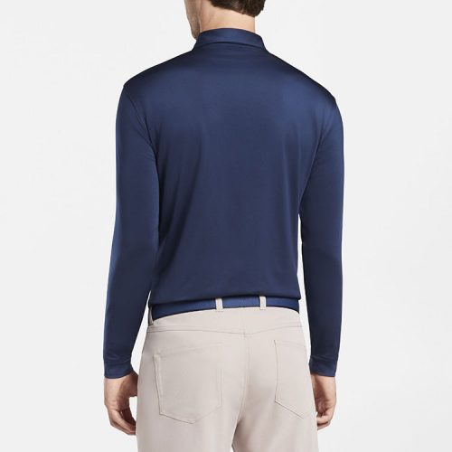 peter-millar-solid-stretch-jersey-long-sleeve-polo-navy Available online or in store at assembly88 men's shop in Allentown, PA
