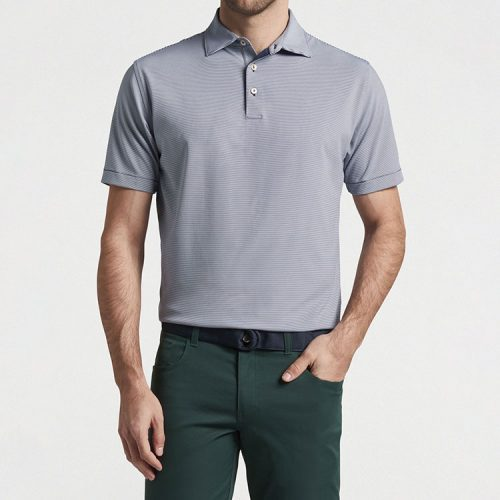 peter-millar-jubilee-stripe-performance-polo-navy Available online or in store at assembly88 men's shop in Allentown, PA