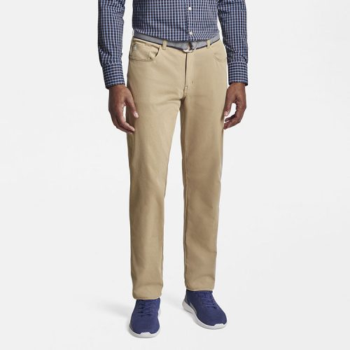 peter-millar-eb66-performance-five-pocket-pant-dark-sand Available online or in store at assembly88 men's shop in Allentown, PA
