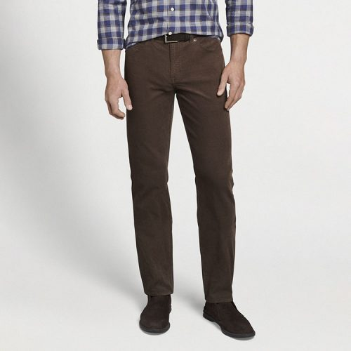peter-millar-superior-soft-corduroy-five-pocket-pant-chestnut Available online or in store at assembly88 men's shop in Allentown, PA