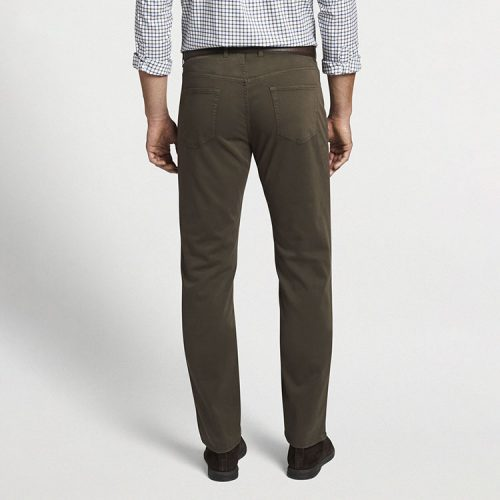 peter-millar-ultimate-sateen-five-pocket-pant-chestnut Available online or in store at assembly88 men's shop in Allentown, PA